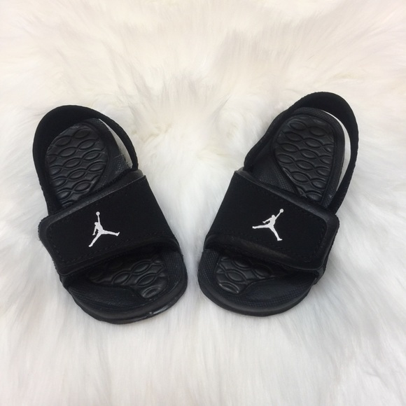 30b74ac662b8b Jordan Other -  Jordan  6 Hydro Boys Black Slides Size 6C